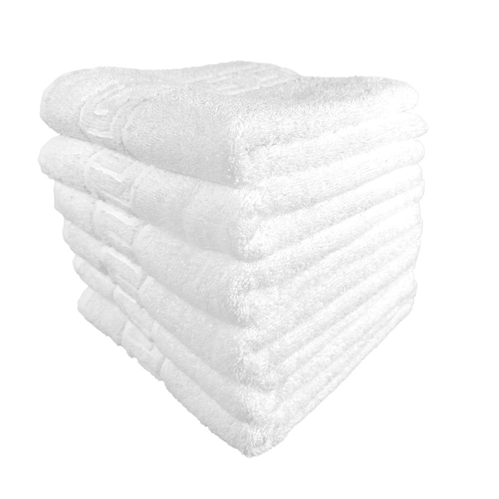 set 6 prosoape albe