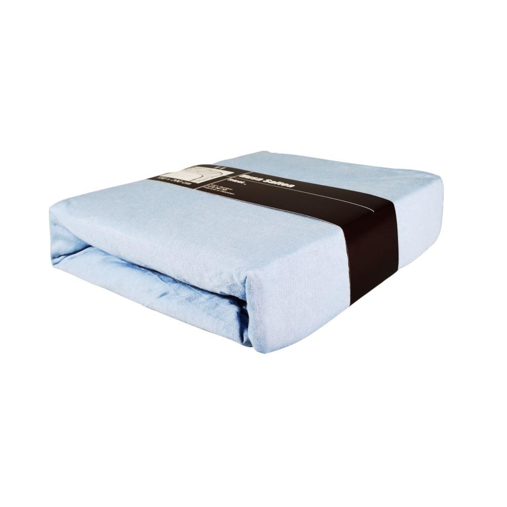 husa de pat bleu