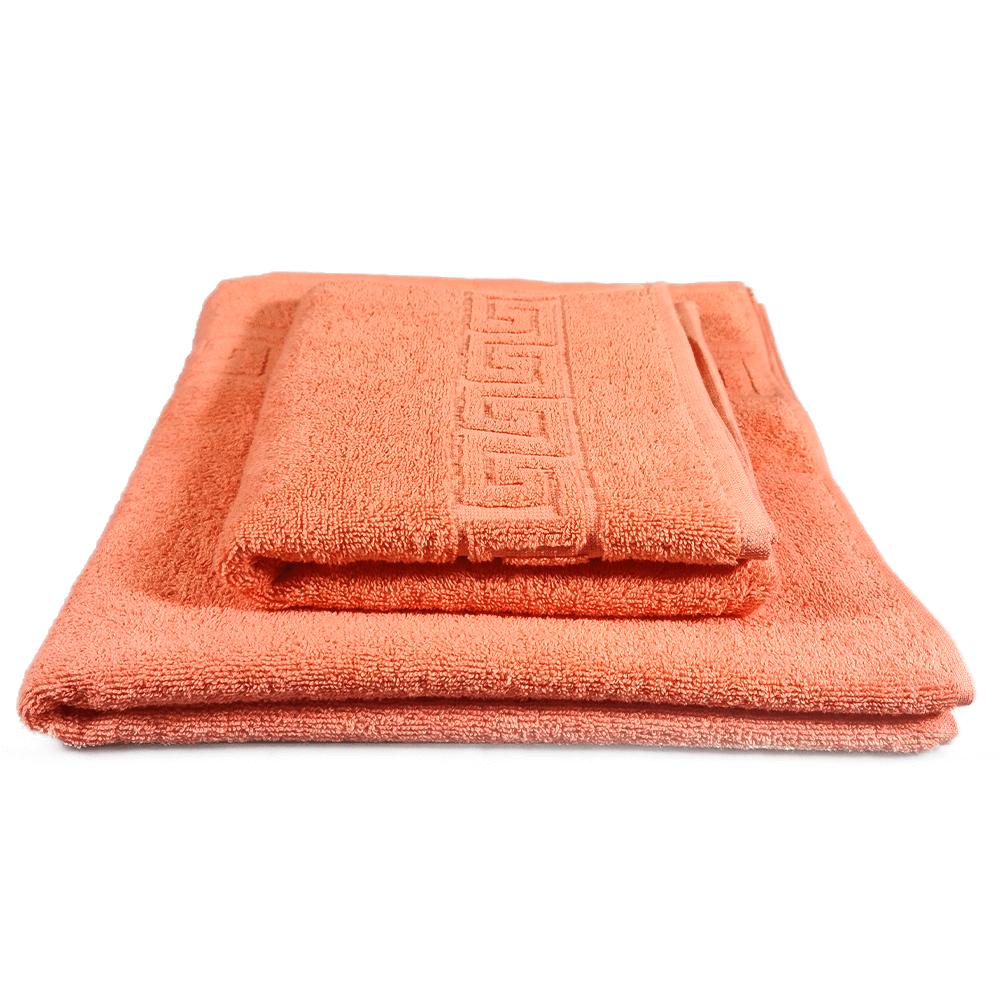 prosop model grecesc bumbac portocaliu