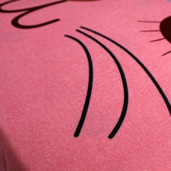 lenjerie roz cu pisica