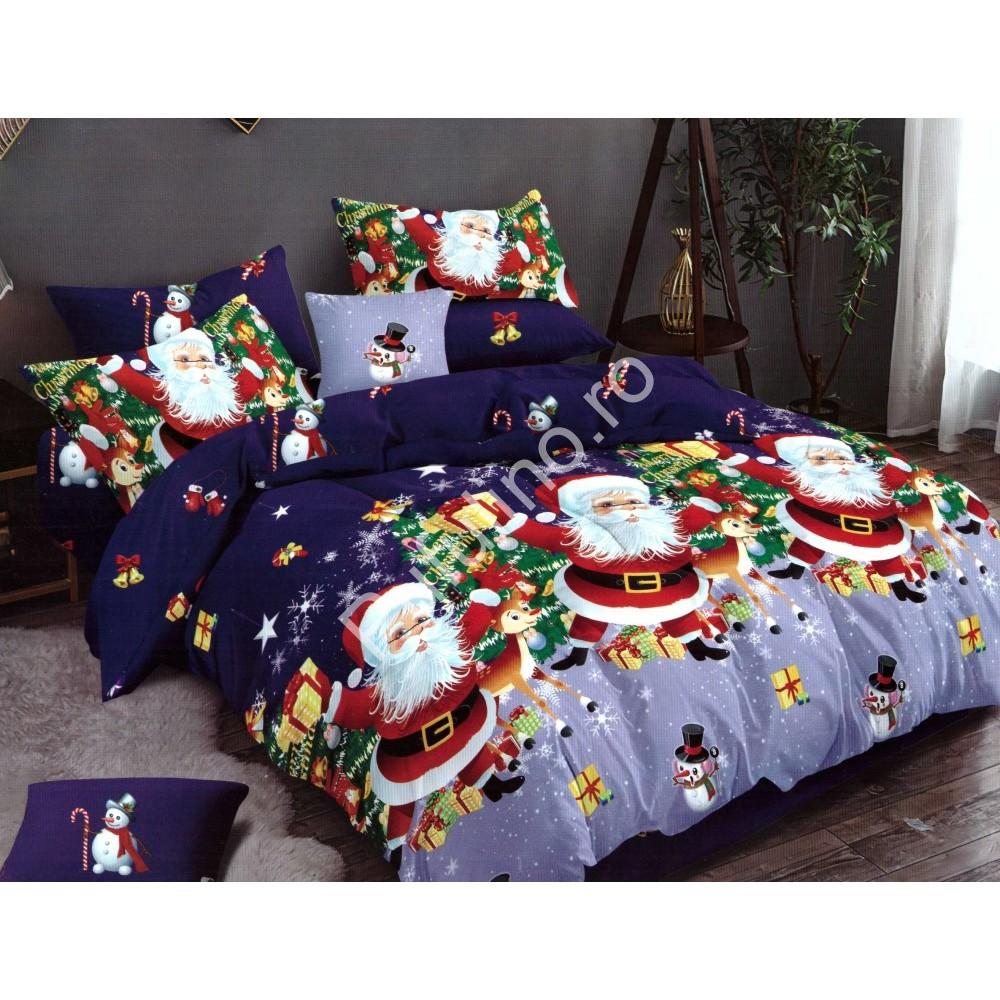 Lenjerie Finet Gros Pucioasa, Santa & Rudolph, 6 Piese, Pat 2 Persoane - PUF6228