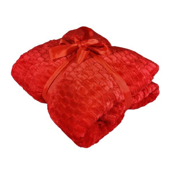 patura grofata rosie
