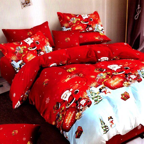 Lenjerie de pat Craciun Christmas Eve PUF6920