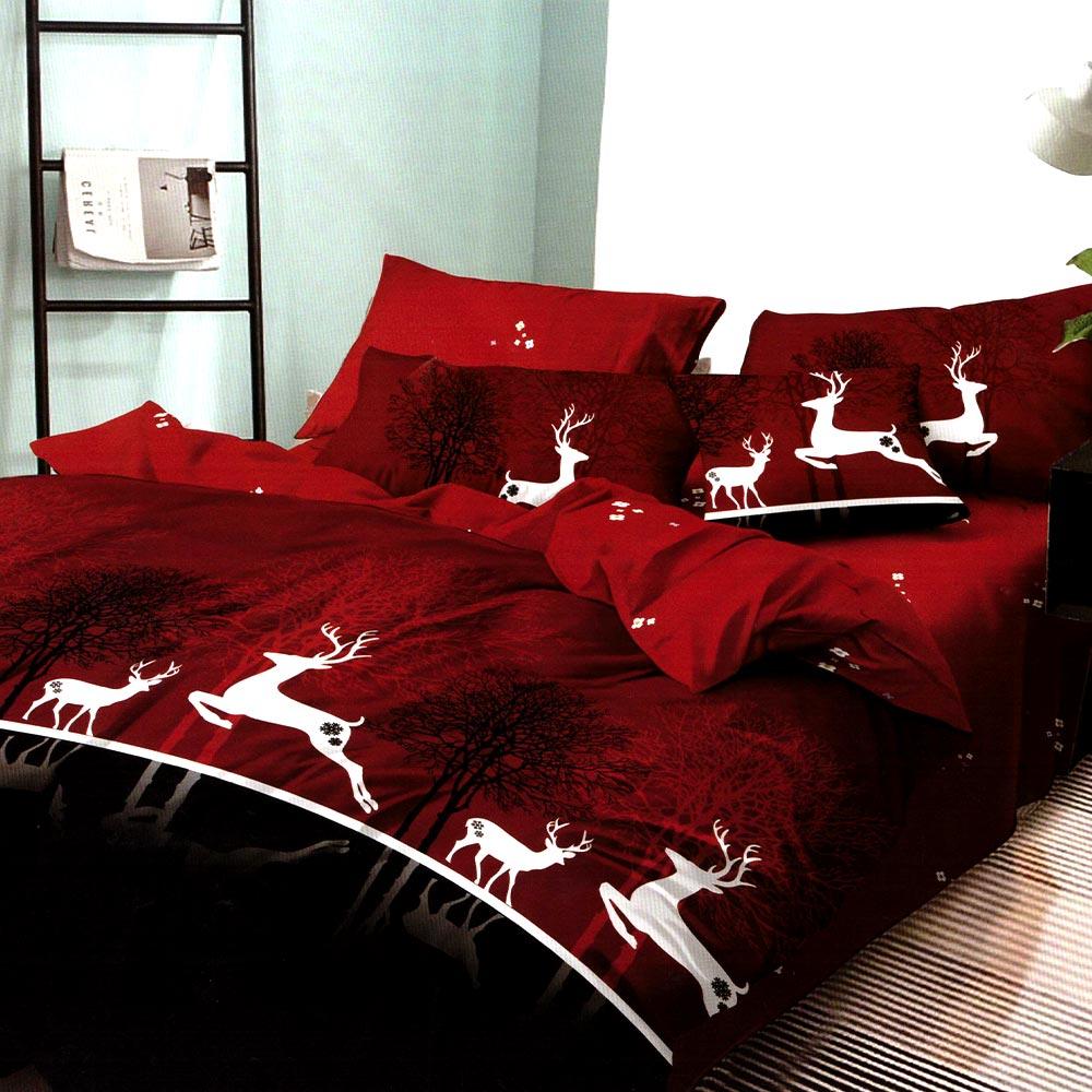 Lenjerie de pat Craciun The Reindeers PUF6930