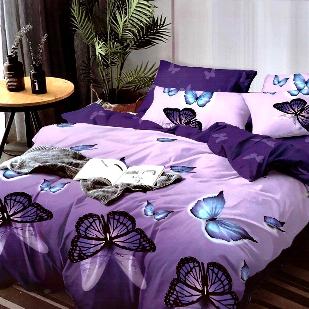 Lenjerie violet cu fluturi East Comfort PUF7353