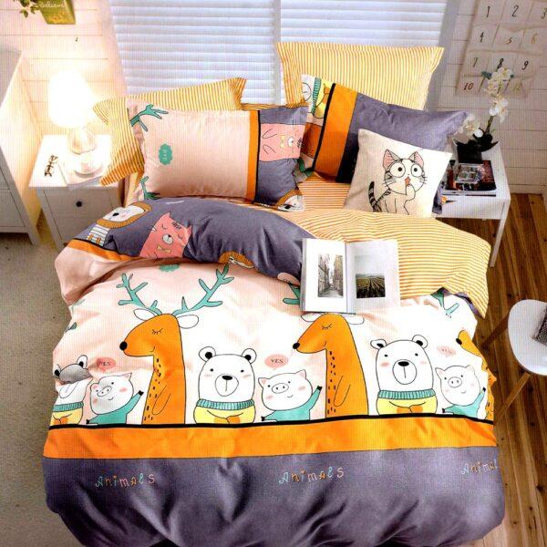 Lenjerie cu animalute East Comfort PUF7398