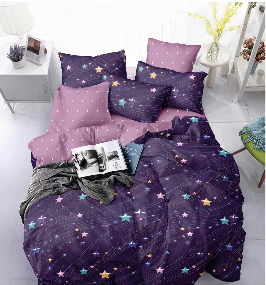 lenjerie violet cu stelute