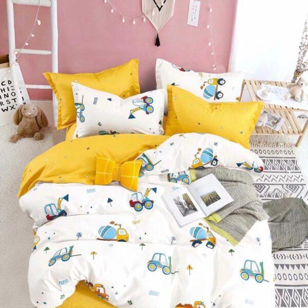 lenjerie de pat cu tractoare