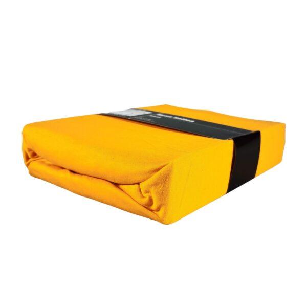 husa de pat portocalie