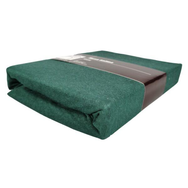 husa de pat verde inchis