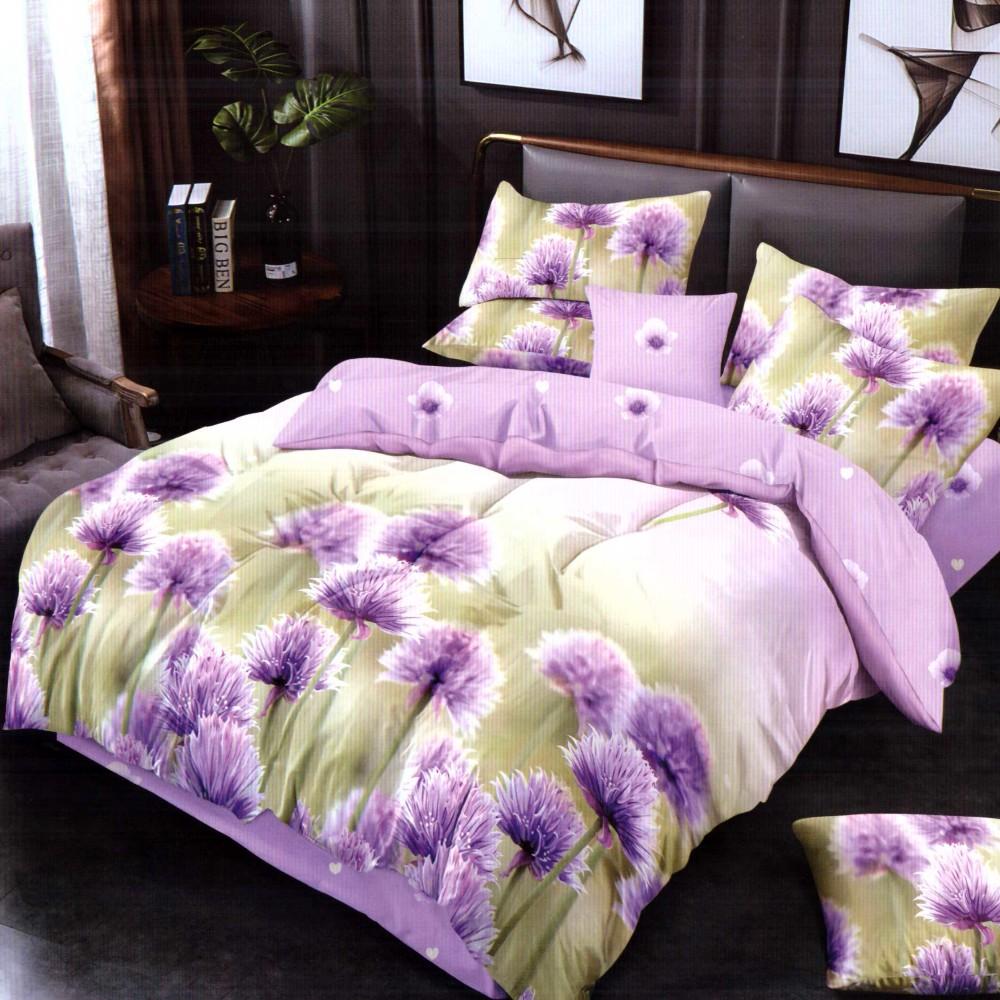 lenjerie de pat finet cu flori