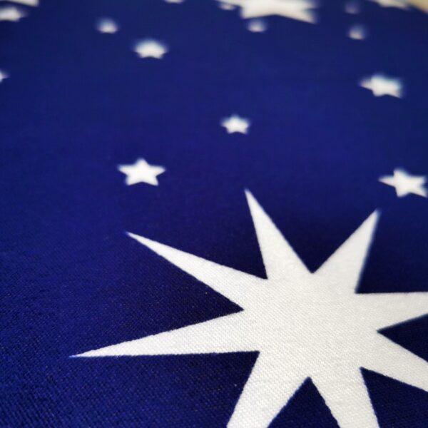 lenjerie albastra cu stele