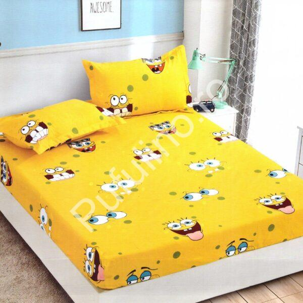Husa de pat cu elastic din Bumbac Finet
