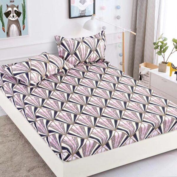 husa de pat cu elastic cu diamante