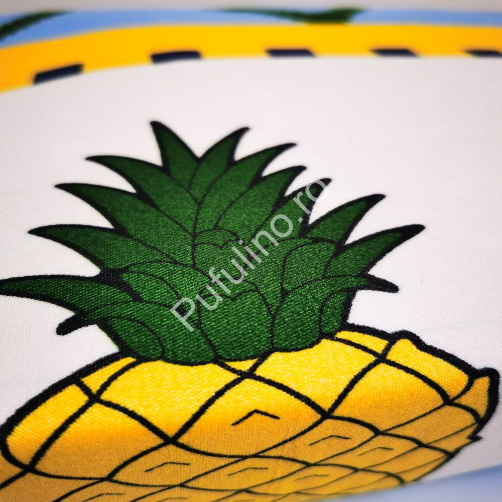 lenjerie-ananas-galben