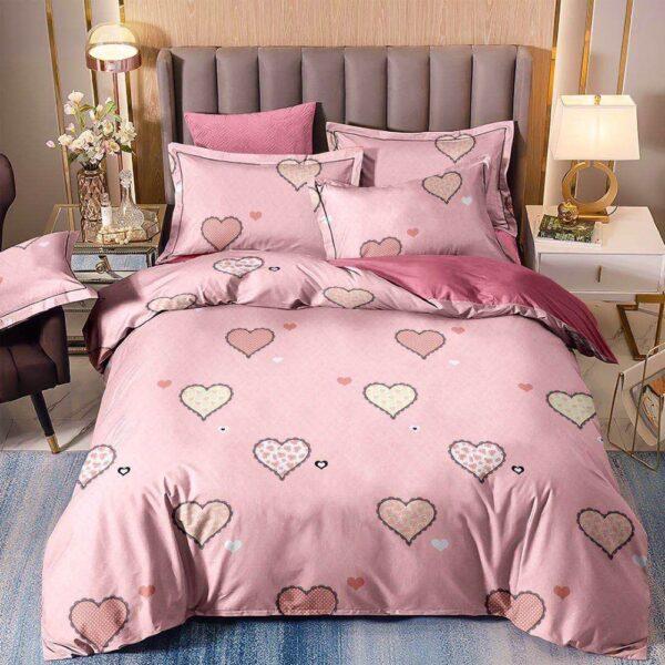 lenjerie inimioare roz