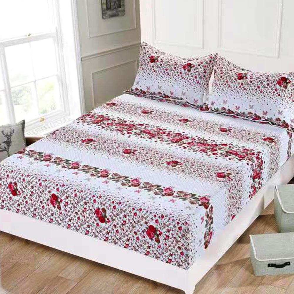 husa de pat cu elastic colorata