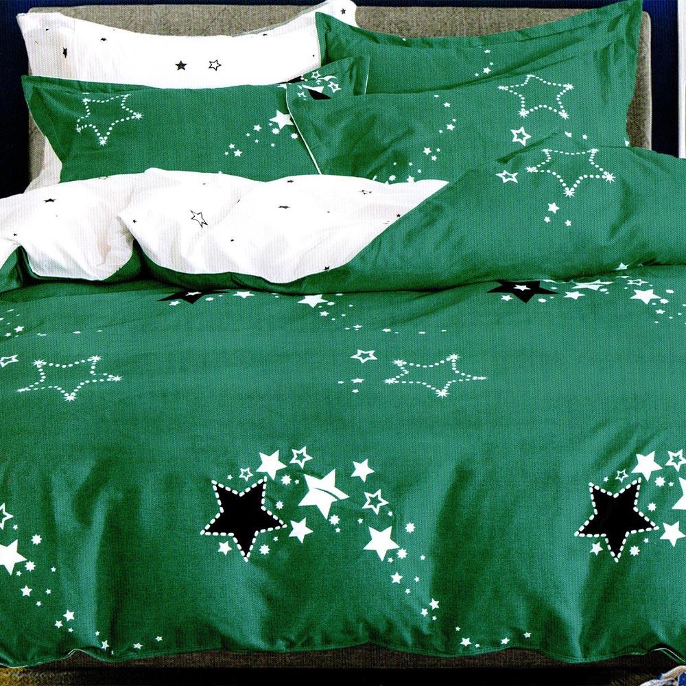 lenjerie verde cu stelute