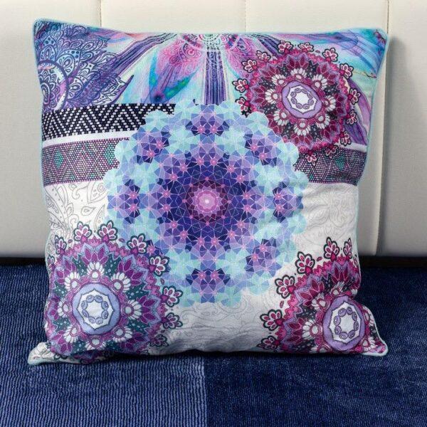 Perna Decorativa Purple Circles