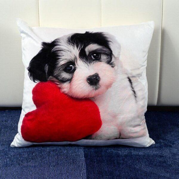 Perna decorativa Loving Puppy