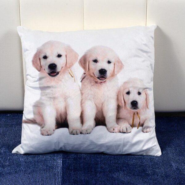 Perna decorativa Puppy Family