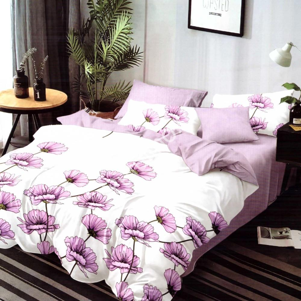 lenjerie de pat super elegant pucioasa cu flori