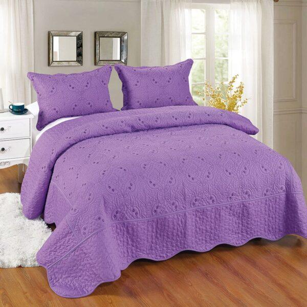 cuvertura mov pat dublu