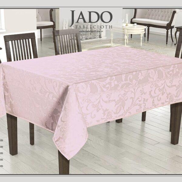 fata de masa jado polyester - roz