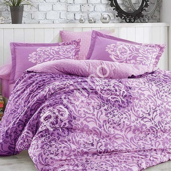 lenjerie bumbac 100% hobby serenity purple