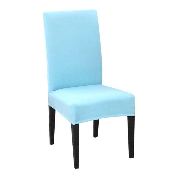 husa de scaun bleu