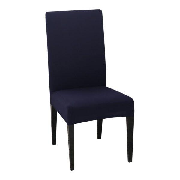 husa de scaun bleumarin