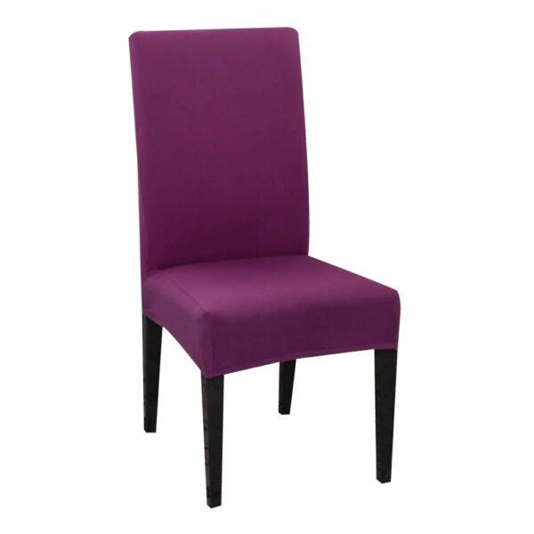 husa de scaun mov aprins