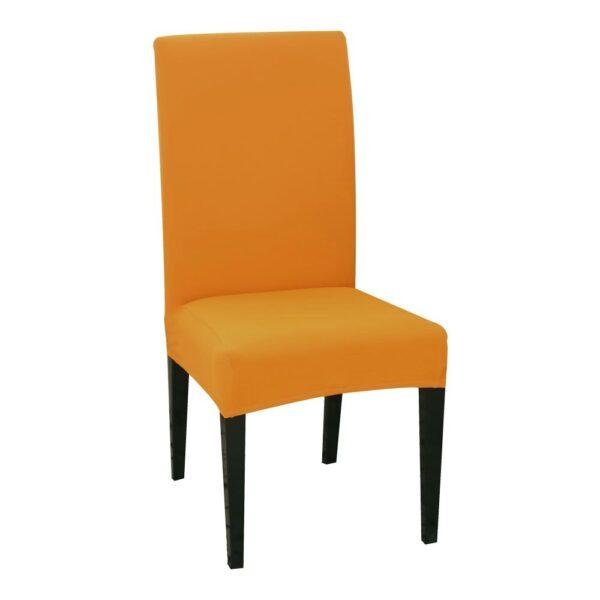 husa de scaun portocalie