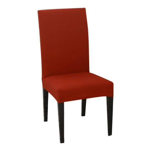 husa de scaun rosie