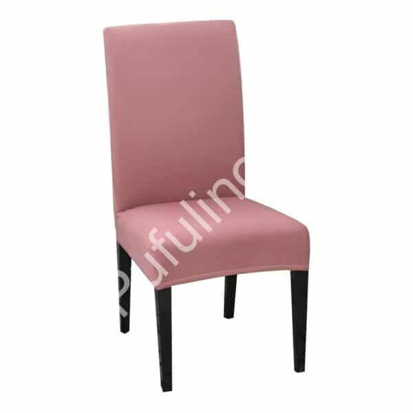 husa de scaun roz deschis