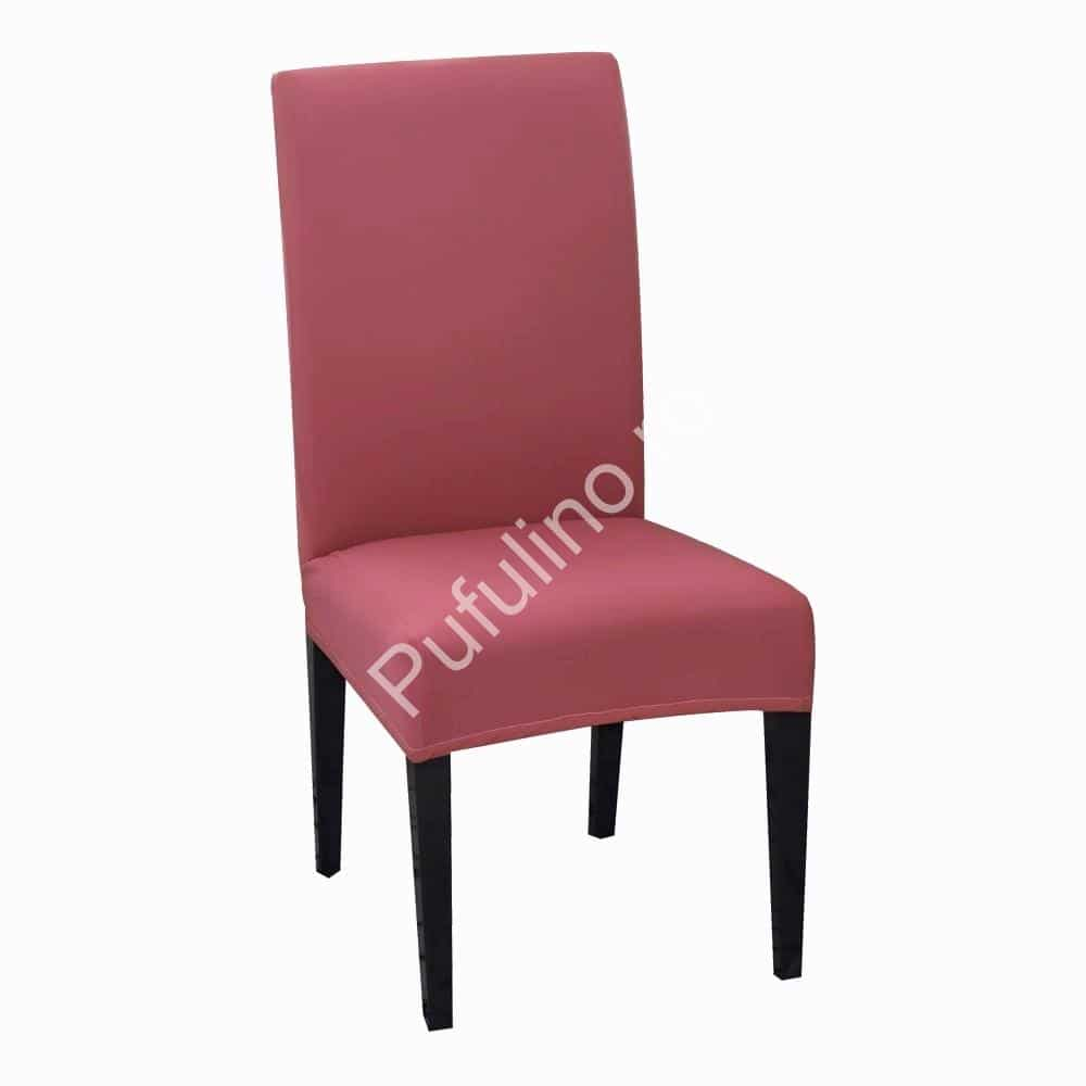 husa de scaun roz inchis