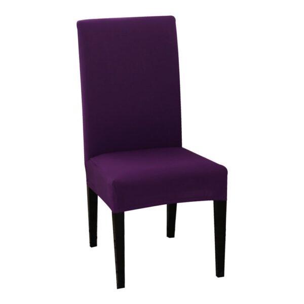 husa de scaun violet