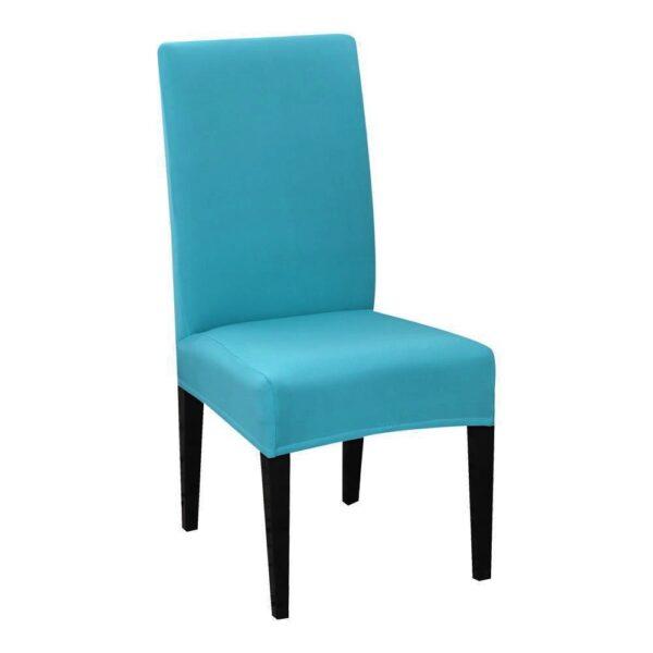 huse de scaun turcoaz