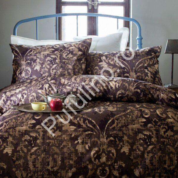 lenjerie bumbac 100% issimo home terra