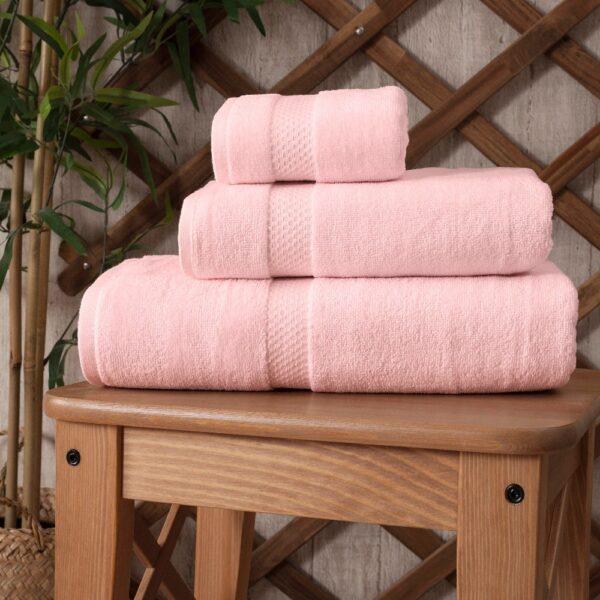 set 3 prosoape roz