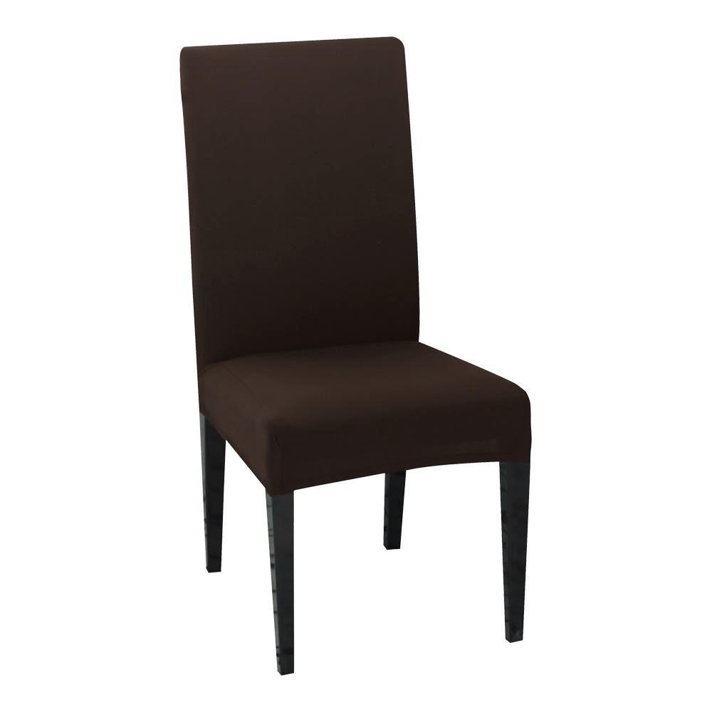 husa de scaun maro inchis