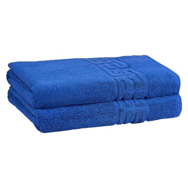 set 2 prosoape albastre
