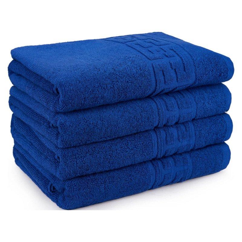 set 4 prosoape albastru