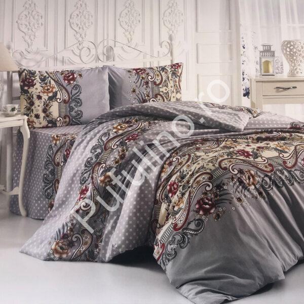 lenjerie din bumbac 100% ranforce traditional
