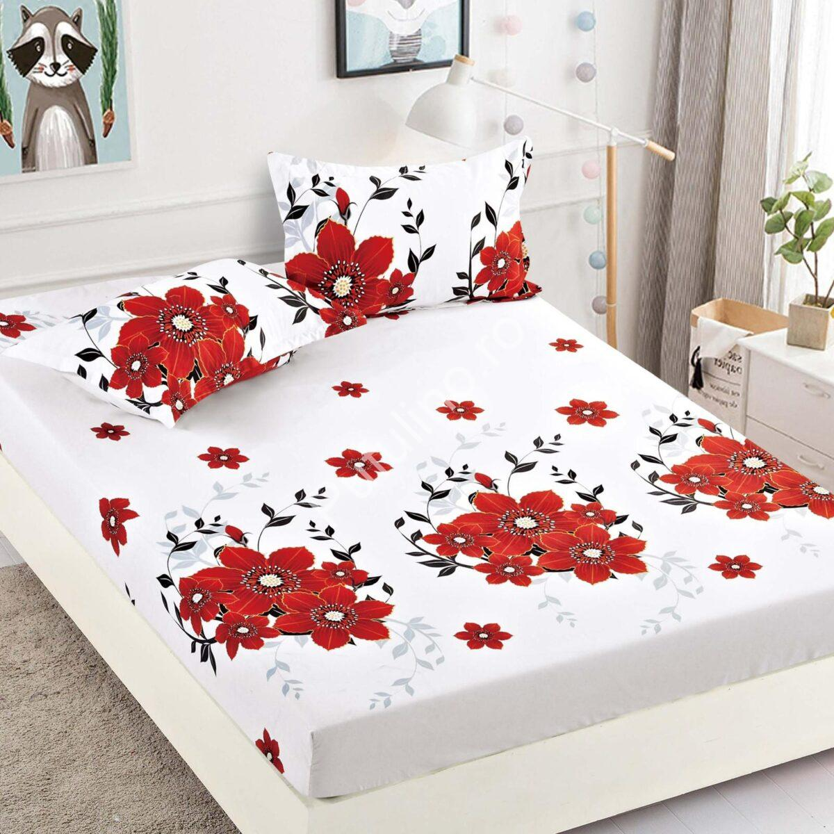 Husa de pat cu elastic Jojo Design PUF21644