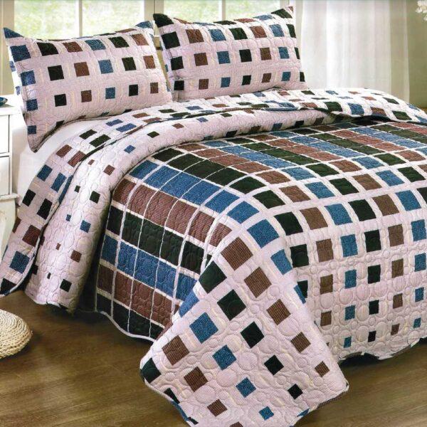 Cuvertura de pat multicolorata