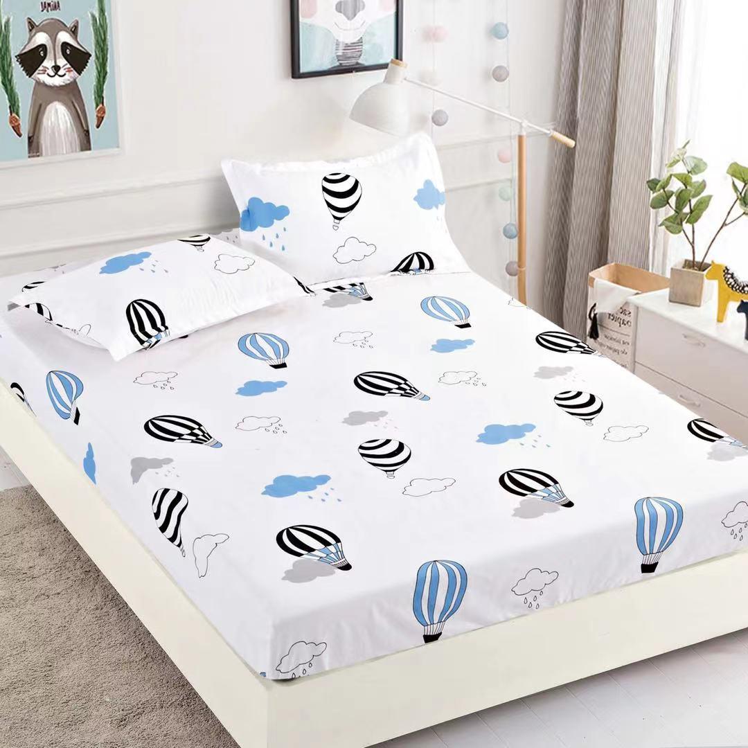 husa de pat cu balonase