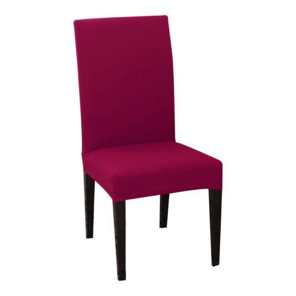 husa de scaun magenta