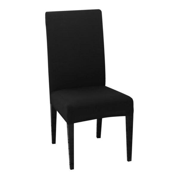 husa de scaun neagra