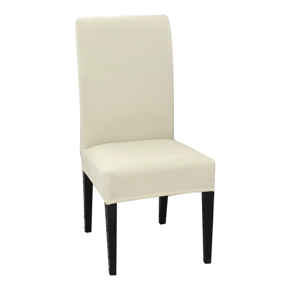 huse de scaun alb ivory